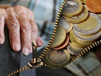 peníze v důchodu